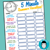 Five Minutes to Win It: Summer Vacation!