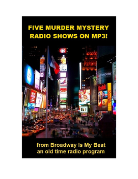 Five Murder Mystery Radio Shows on MP3s.