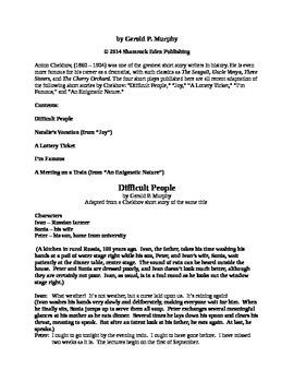 Drama - Five New Chekhov Plays