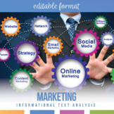 Nonfiction Analysis for Secondary Students: Do You Understand Marketing?