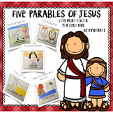 Five Parables of Jesus - Crafts and Coloring Book