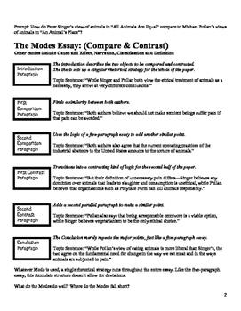 Five Paragraph Alternatives