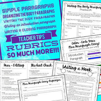 strategies for teaching the five paragraph essay Grades 9 – 12 | lesson plan | unit  students will be formally assessed on a  thesis essay that addresses the six  and in conclusion: inquiring into strategies  for writing effective conclusions.