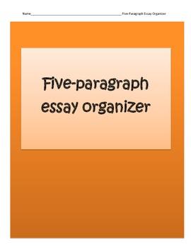 Five-Paragraph Essay Organizer