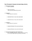 Five Paragraph Essay Outline (Word Doc)