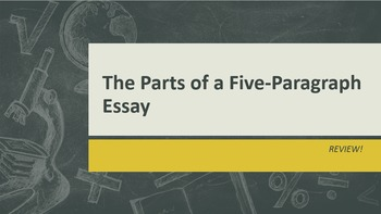 Five-Paragraph Essay Review