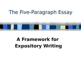 Five Paragraph Expository Essay Power Point