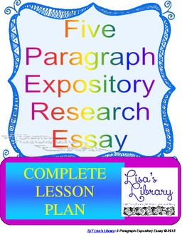 Five-Paragraph Expository Research Essay