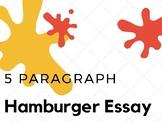 Five Paragraph Hamburger Essay