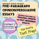 Opinion Essay / Persuasive Essay: Introduce, Read, and Write!