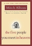 Five People You Meet in Heaven group discussion questions