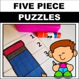 number sequence 1-5 pre k
