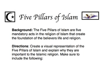 Five Pillars of Islam Activity