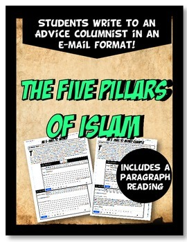Five Pillars of Islam Advice Columnist E-mail Activity