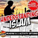 Five Pillars of Islam Close Reading, Worksheet, & Advice E-mail Activity