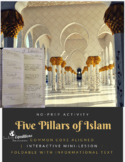 Five Pillars of Islam Foldable