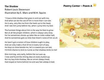Five Poetry Centers 3rd Grade