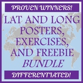 Latitude and Longitude Bundle - Posters and Activities