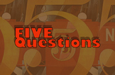 Five Questions India and Its Environs Research Exercise