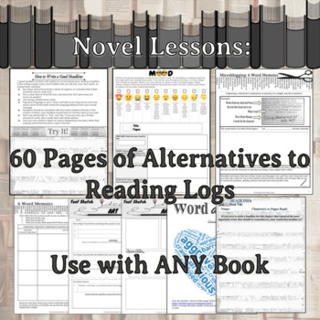 Five Reading Log Alternatives Bundle