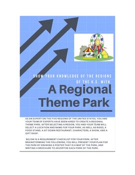 Five Regions Theme Park Project
