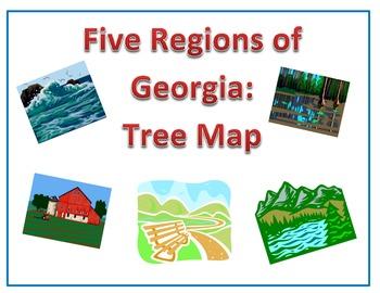 Five Regions of Georgia: Tree Map