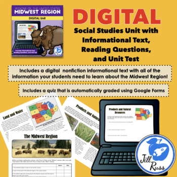Regions of the United States: 5 Complete Units with Informational Text Bundle