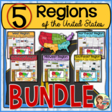 5 Regions of the United States BUNDLE (Print and Digital)