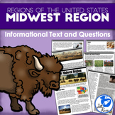 Regions of the United States: Midwest, Informational Text (5 Regions)