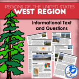 Regions of the United States: West, Informational Text (5 Regions)
