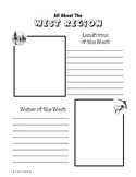 Regions of the United States: West, Scrapbook (5 Regions)