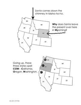 Quiz: The United States: West Region - TeacherVision