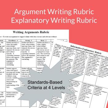 Five Rubric Pack: All the Common Core Writing Rubrics You Need!