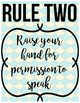Five Rules Poster