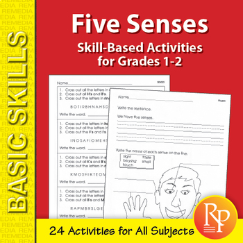 Five Senses: Thematic Skill-Based Activities for Grades 1-2