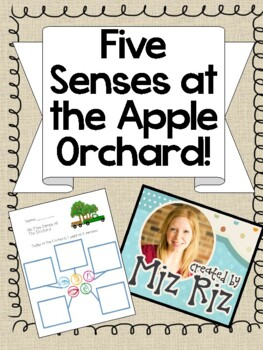 Five Sense at the Apple Orchard- Science Lesson for  Field Trip