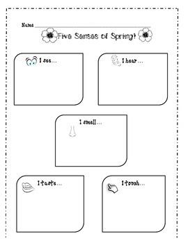 Five Sense of Spring