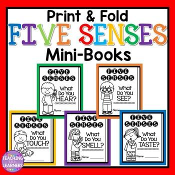 Five Senses Mini-Books