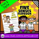 Five Senses Activities (5 Senses Flipbook)