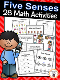 Five Senses: 28 Math Activities