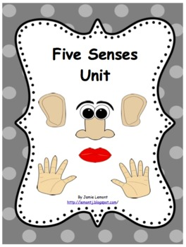 Five Senses: A Complete Unit
