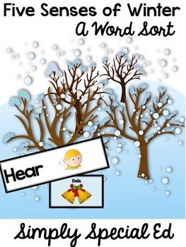 Five Senses: A Seasonal Word Sort Bundle!
