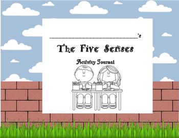 Five Senses Activity Journal