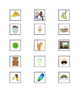 Five Senses Activity for Preschool or Low Verbal Autism
