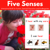 5 Senses - Adapted Book for Autism