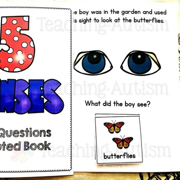 Five Senses Adapted Books