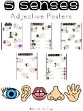 Five Senses Adjective Posters