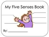 Five Senses Book -students make personal connections to their senses!