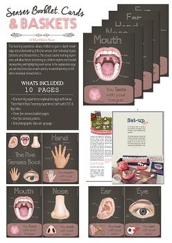 Five Senses Booklet & Basket