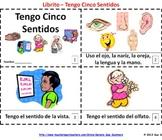 Five Senses Booklet - Spanish Cinco Sentidos Librito